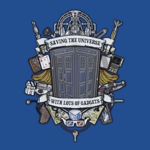Camiseta time lord crest