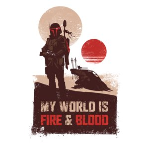 My World Is Fire Blood