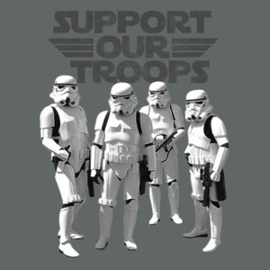 Star Wars - Support Our Trops