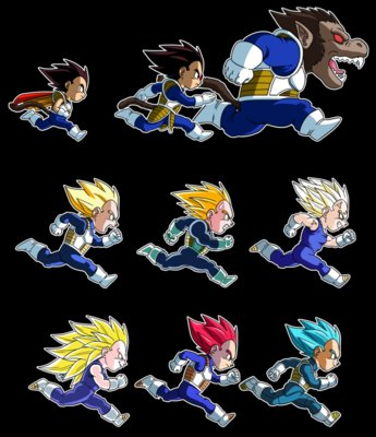 4005-  Dragon Ball Evolutions of Vegeta  (albertocubatas)
